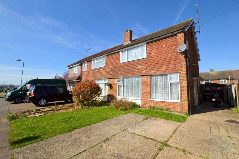 3 Bedrooms Semi Detached House for sale in Gransden Close, Luton, LU3 2UJ