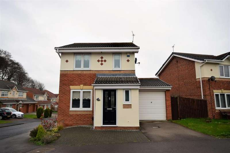 3 Bedrooms Detached House for sale in Cottonwood, Burdon Vale, Sunderland