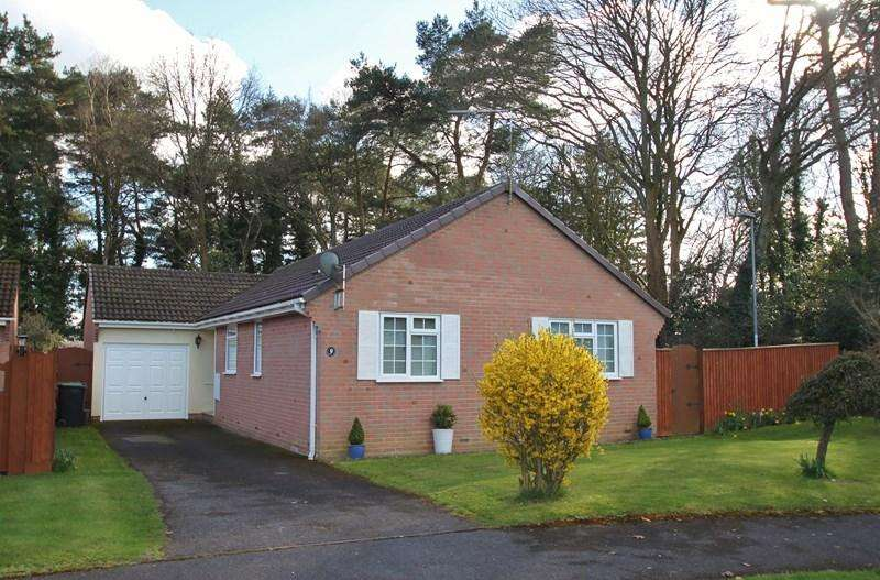3 Bedrooms Detached Bungalow for sale in Lombardy Close, Verwood