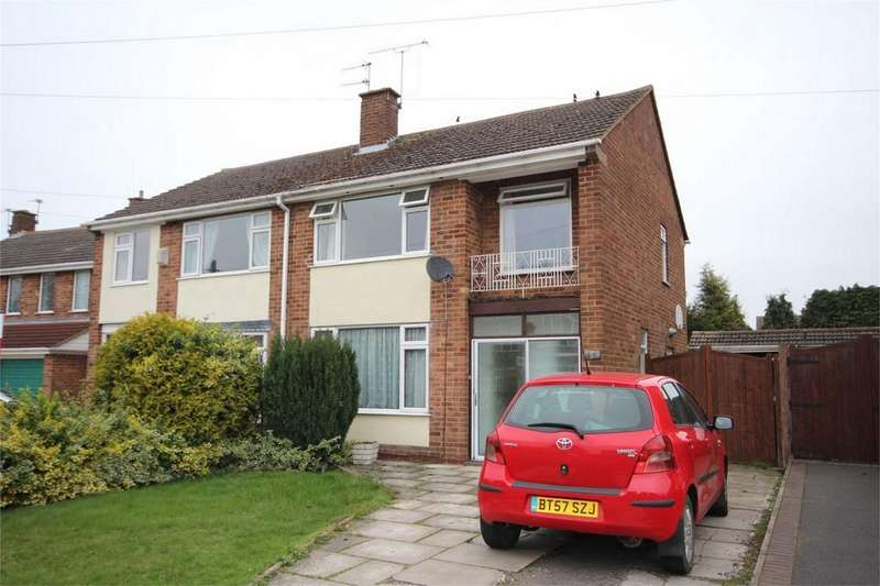 3 Bedrooms Semi Detached House for sale in St Nicolas Park Drive, Nuneaton, Warwickshire