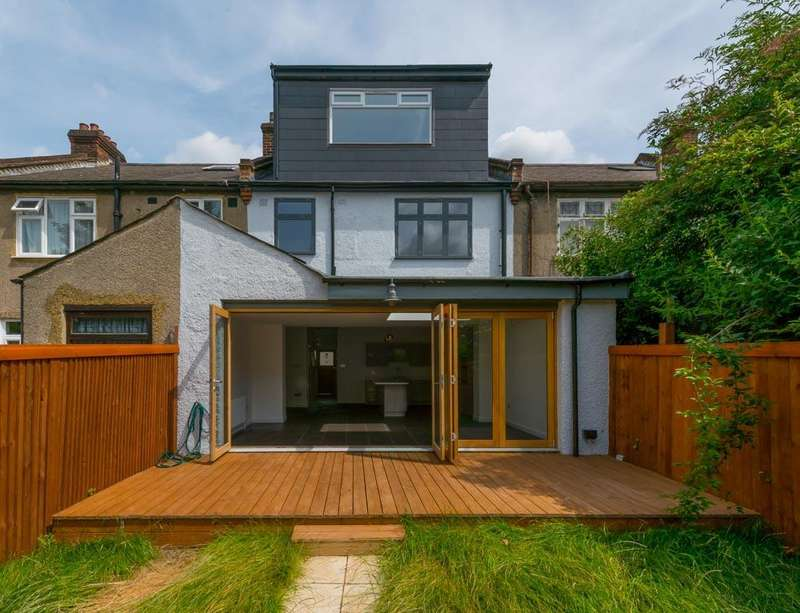4 Bedrooms Terraced House for sale in Wrottesley Road, London, NW10