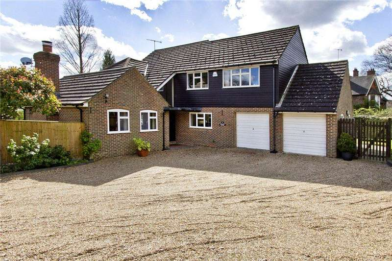 4 Bedrooms Detached House for sale in Marlpit Close, Marlpit Hill, Edenbridge, Kent
