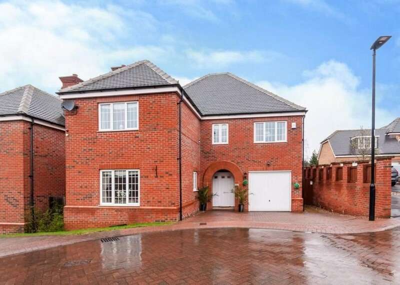 4 Bedrooms Detached House for sale in Centurion Fields, Bessacarr