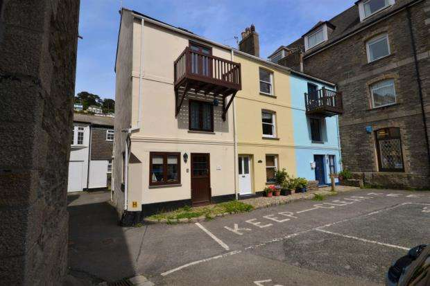 2 Bedrooms End Of Terrace House for sale in The Quay, East Looe, Cornwall
