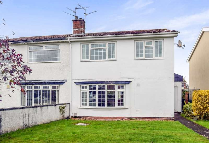 4 Bedrooms Semi Detached House for sale in Glyn Eiddew, Cardiff