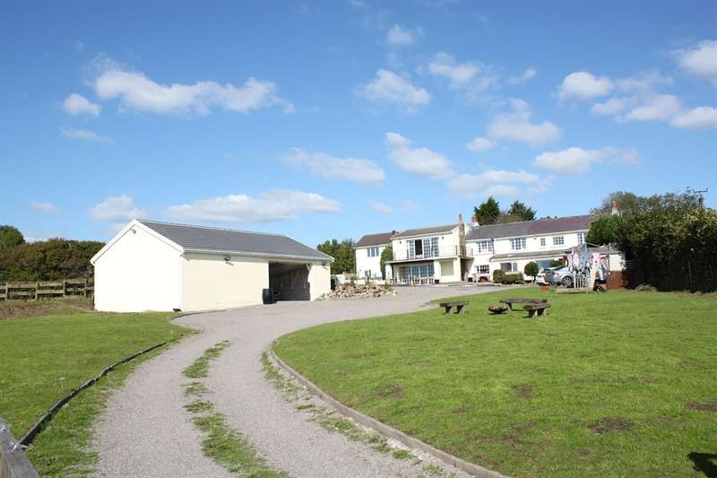 4 Bedrooms Detached House for sale in The Paddock, Salem, Swansea