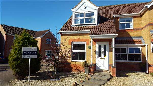 3 Bedrooms Semi Detached House for sale in BRAY CLOSE, SCARTHO TOP, GRIMSBY