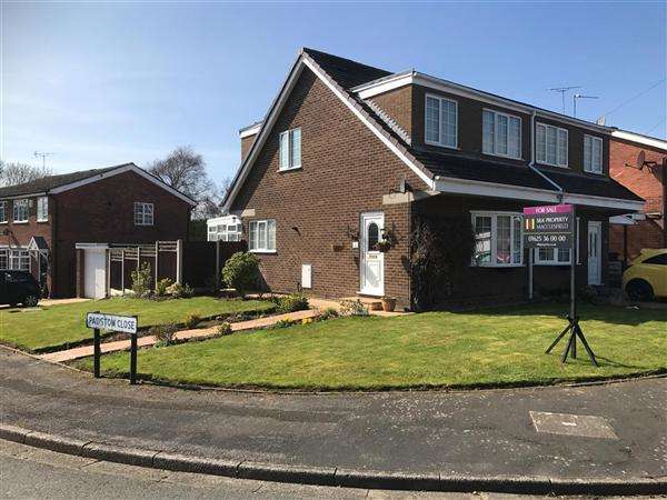 3 Bedrooms Semi Detached House for sale in Padstow Close, Macclesfield