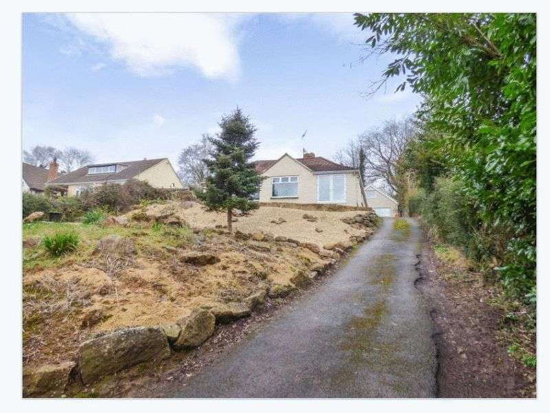 5 Bedrooms Detached Bungalow for sale in Rock Bank, Lower Common, Aylburton, Lydney, GL15 6DR