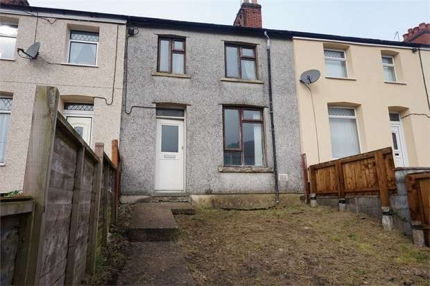 3 Bedrooms Terraced House for sale in Meadow Terrace, Phillipstown, New Tredegar, Caerphilly