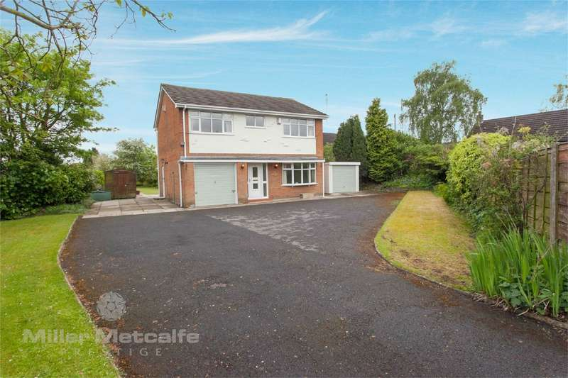 4 Bedrooms Detached House for sale in Warrington Road, Culcheth, Warrington, Cheshire