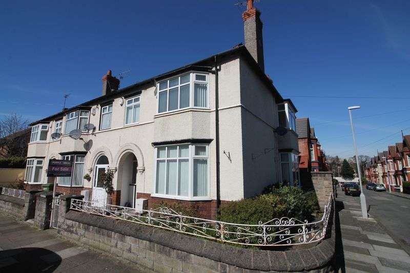 3 Bedrooms Semi Detached House for sale in Grange Road West, Prenton