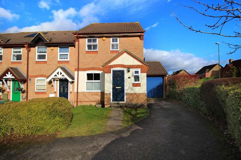 3 Bedrooms End Of Terrace House for sale in Standen Place, Horsham