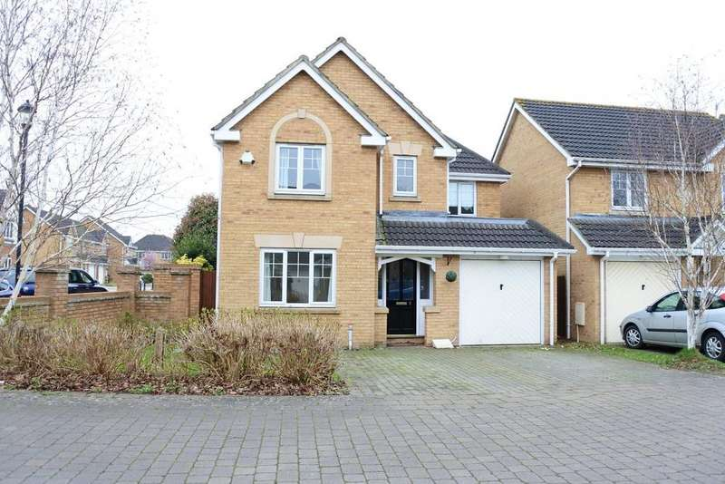 4 Bedrooms Detached House for sale in Lambourne Way, Portishead