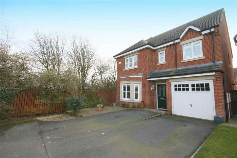 4 Bedrooms Detached House for sale in The Brambles, New Hartley, Whitley Bay, NE25