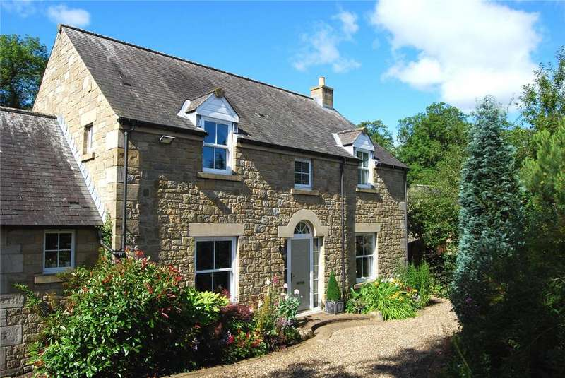 4 Bedrooms Detached House for sale in Cromwell Close, Netherwitton, Morpeth, Northumberland