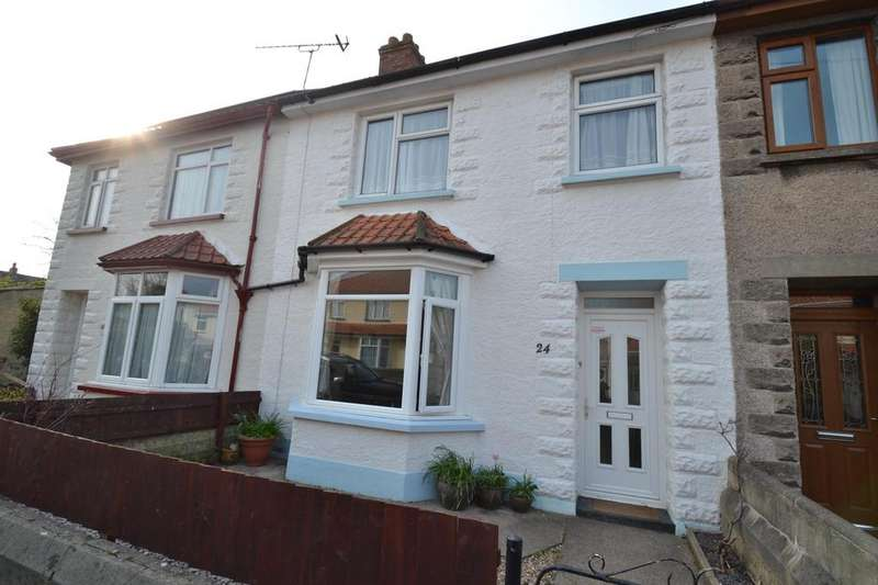 3 Bedrooms Terraced House for sale in Clinton Road, Barnstaple