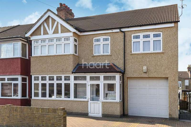 5 Bedrooms End Of Terrace House for sale in Rosecourt Road, Croydon, CR0