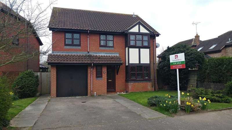 3 Bedrooms Detached House for sale in Cardew Drift, Grange Farm, Kesgrave, Ipswich