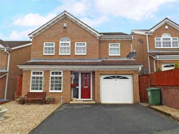 4 Bedrooms Detached House for sale in Riverside, South Church, Bishop Auckland, Durham
