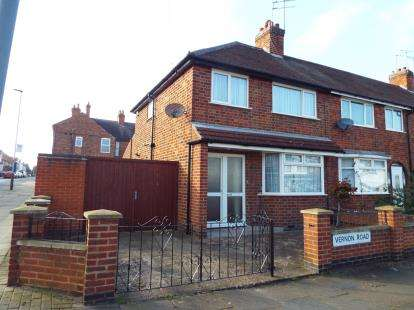 3 Bedrooms End Of Terrace House for sale in Vernon Road, Aylestone, Leicester, Leicestershire