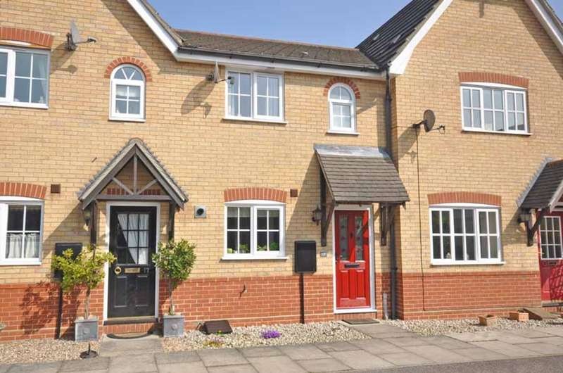 2 Bedrooms Terraced House for sale in Timbers Close, Great Notley, Braintree, CM77