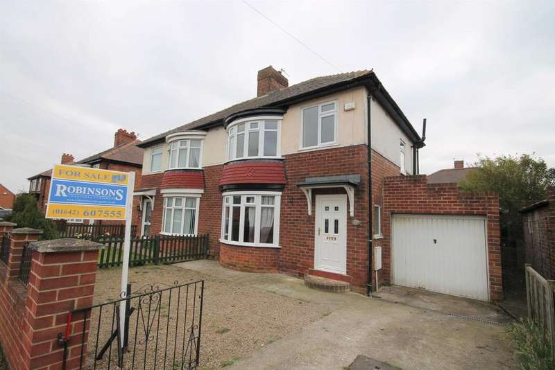3 Bedrooms Semi Detached House for sale in Redcar Road, Thornaby