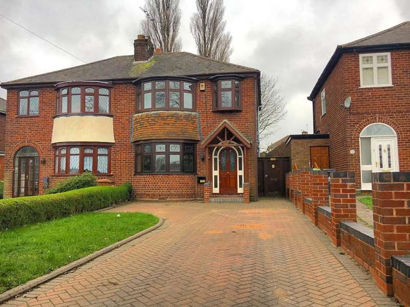 3 Bedrooms Semi Detached House for sale in GREAT BRIDGE ROAD, BILSTON, WEST MIDLANDS, WV14 8NG