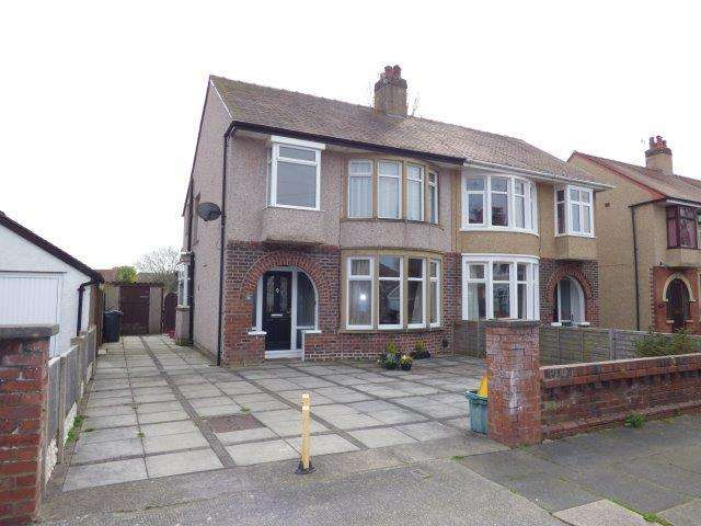 3 Bedrooms Semi Detached House for sale in Burlington Grove, Morecambe, LA4 5XW