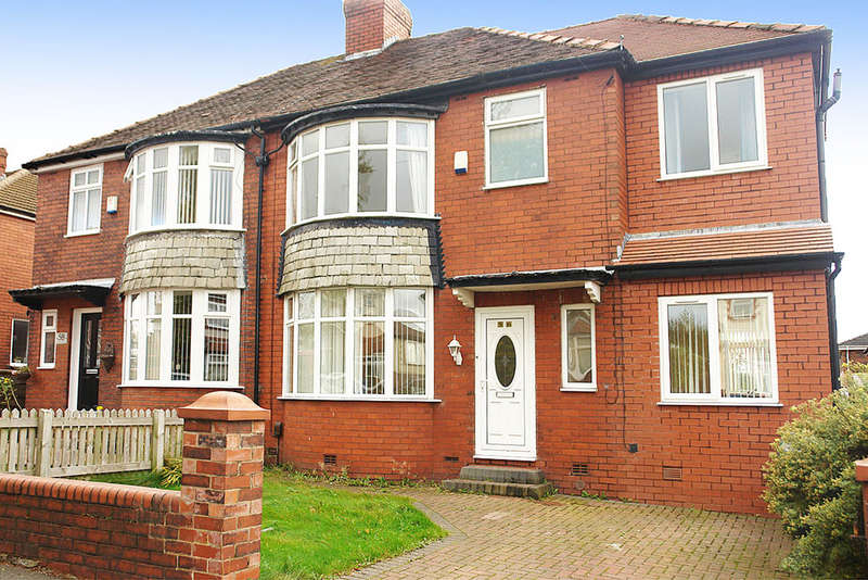 3 Bedrooms Semi Detached House for sale in 56 Chadderton Park Road, Chadderton, Oldham