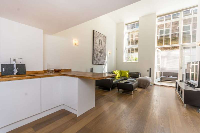 2 Bedrooms Maisonette Flat for sale in Three Cups Yard, Bloomsbury, WC1R