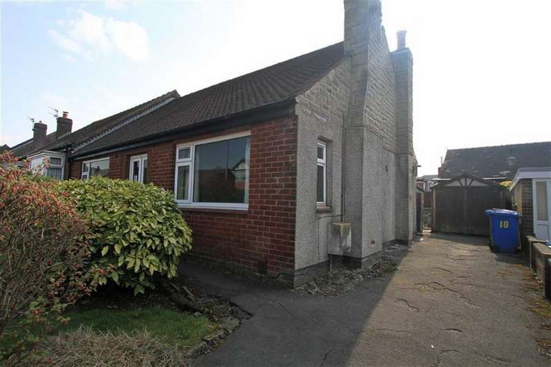 2 Bedrooms Semi Detached Bungalow for sale in 10, Cliftonville Road, Thornham, Rochdale, OL16