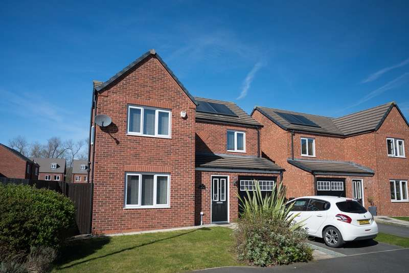 4 Bedrooms Detached House for sale in darwin way, ellesmere port, Cheshire, CH65