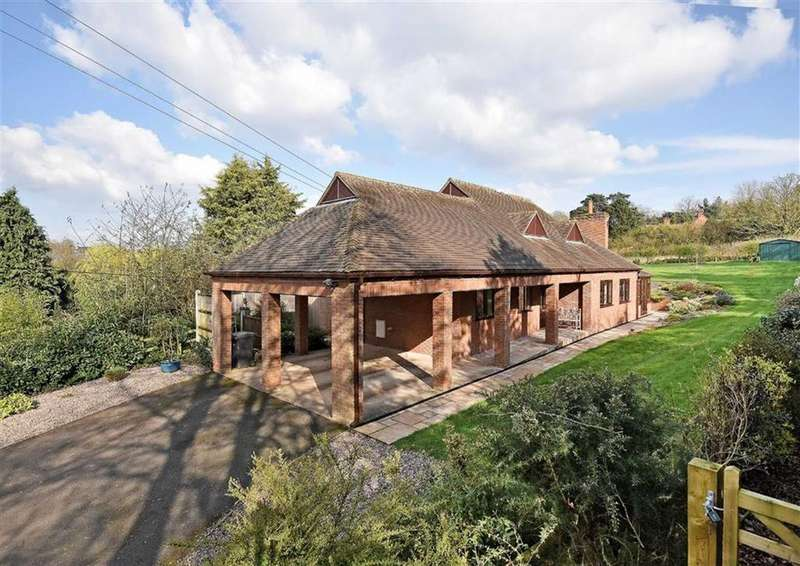 4 Bedrooms Detached Bungalow for sale in The Meadows, Stratford Lane, Hilton, Bridgnorth, Shropshire, WV15