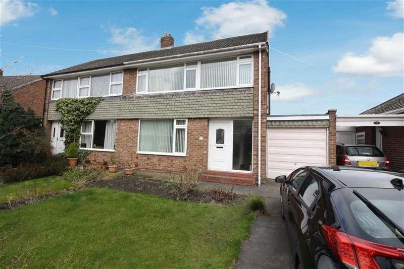 3 Bedrooms Semi Detached House for sale in Swinhoe Gardens, Newcastle Upon Tyne, NE13