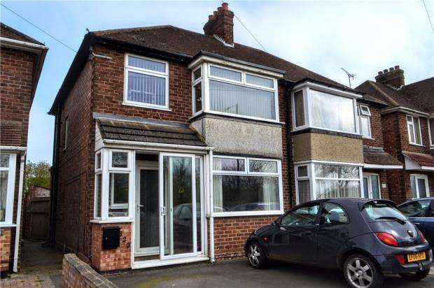 3 Bedrooms Semi Detached House for sale in Tachbrook Road, Whitnash, Leamington Spa, Warwickshire