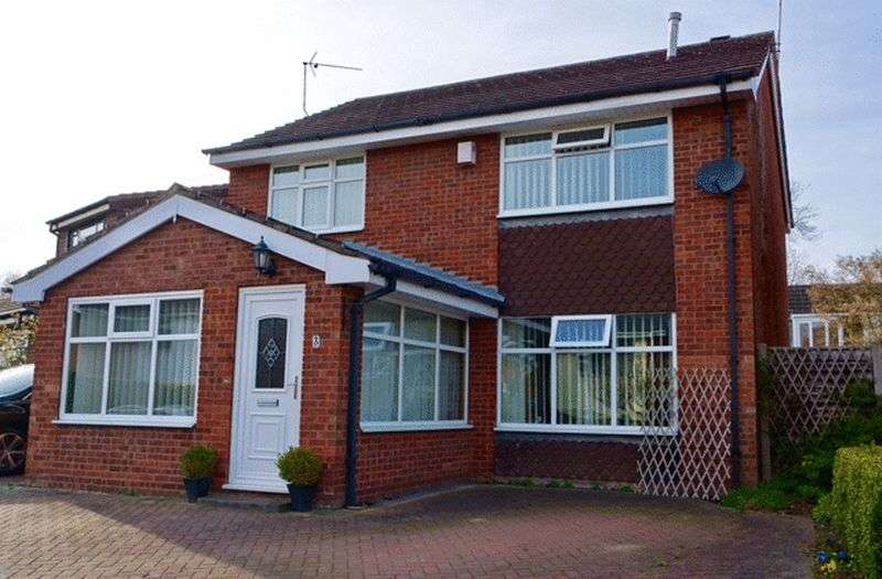 4 Bedrooms Detached House for sale in Abbots Way, Hartford, CW8 1NN