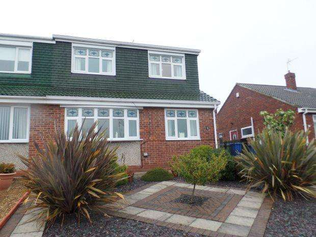 3 Bedrooms Semi Detached Bungalow for sale in EAST DENE WAY, PETERLEE, PETERLEE