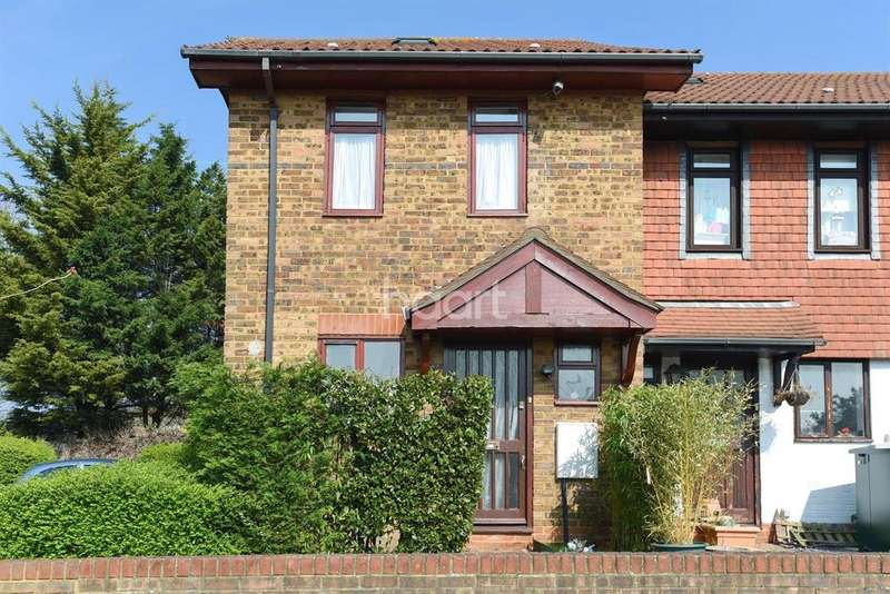 2 Bedrooms End Of Terrace House for sale in Alvia Gardens, Sutton
