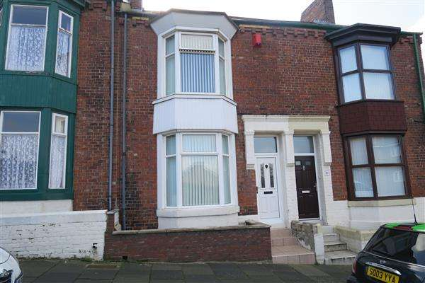 3 Bedrooms Terraced House for sale in Hunters Terrace, South Shields