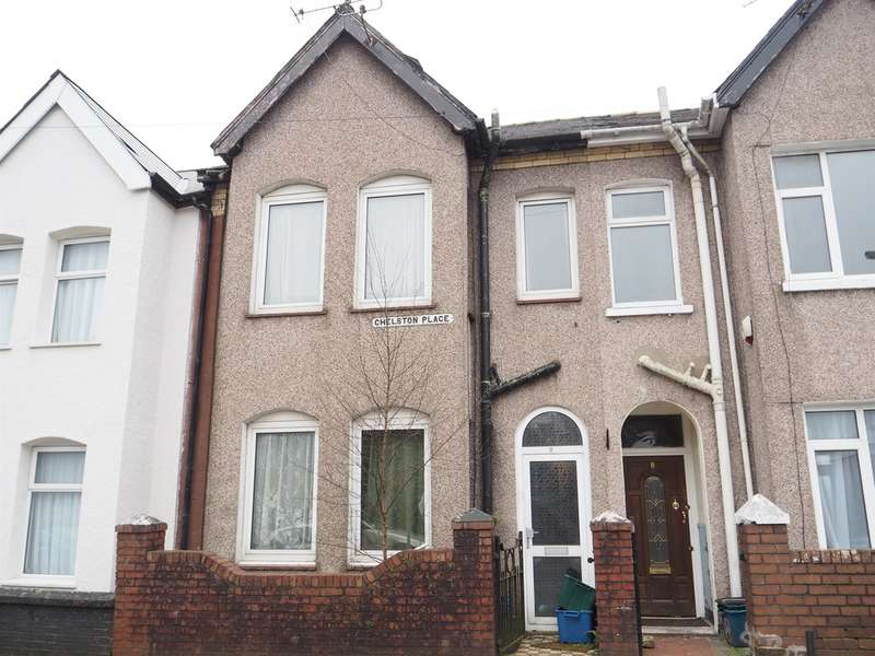 3 Bedrooms Terraced House for sale in Chelston Place, Newport