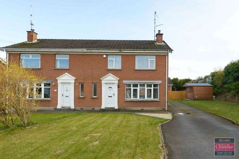 3 Bedrooms Semi Detached House for sale in 18 Muskett Avenue, Carryduff, BT8 8QH