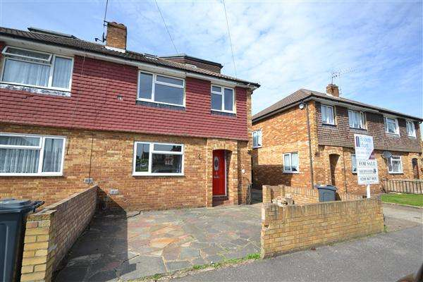 4 Bedrooms Semi Detached House for sale in The Gardens, Bedfont