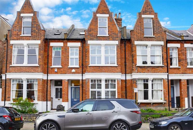 5 Bedrooms Terraced House for sale in Bisham Gardens, Highgate, London