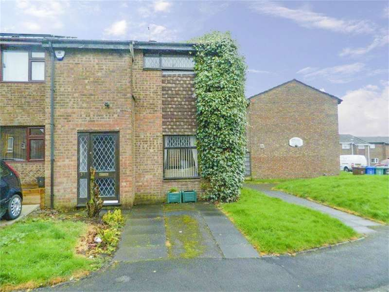 3 Bedrooms End Of Terrace House for sale in Griffin Close, Bury, Lancashire