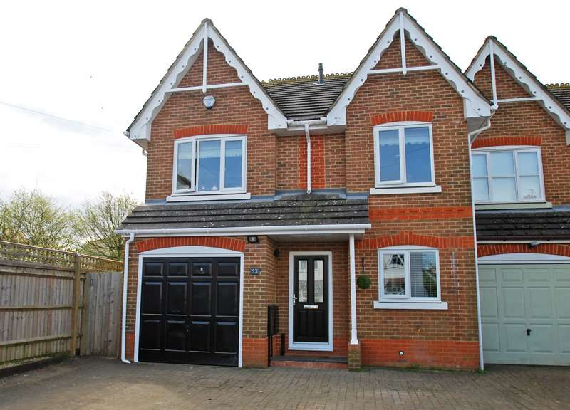 4 Bedrooms Semi Detached House for sale in Horseshoe Crescent, Beaconsfield, HP9