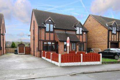 2 Bedrooms Semi Detached House for sale in Arlott Way, Edlington, Doncaster