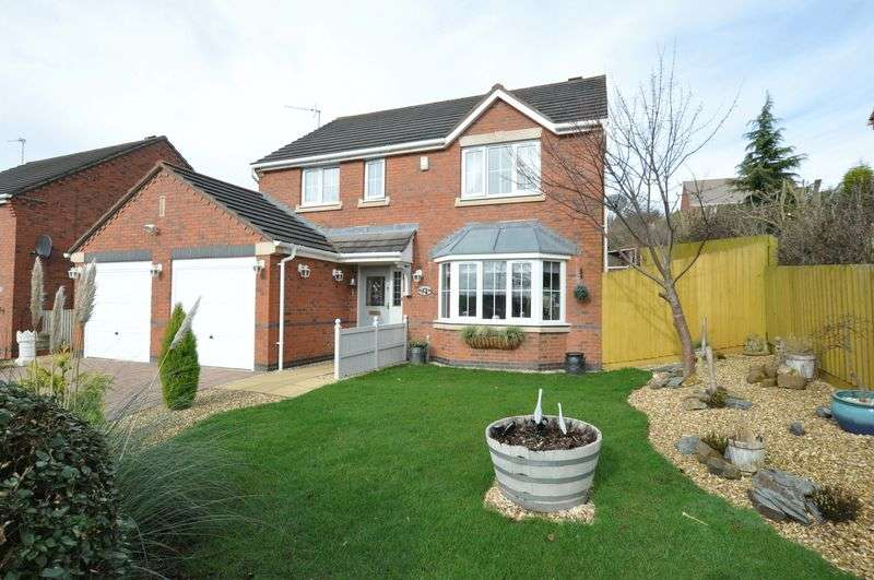 4 Bedrooms Detached House for sale in Clifton Way, Stapenhill