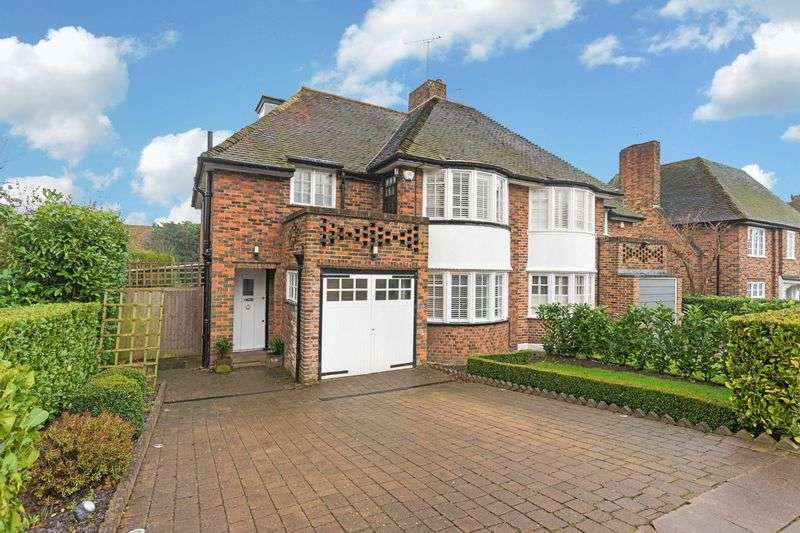 4 Bedrooms Semi Detached House for sale in Maurice Walk, Hampstead Garden Suburb, London NW11