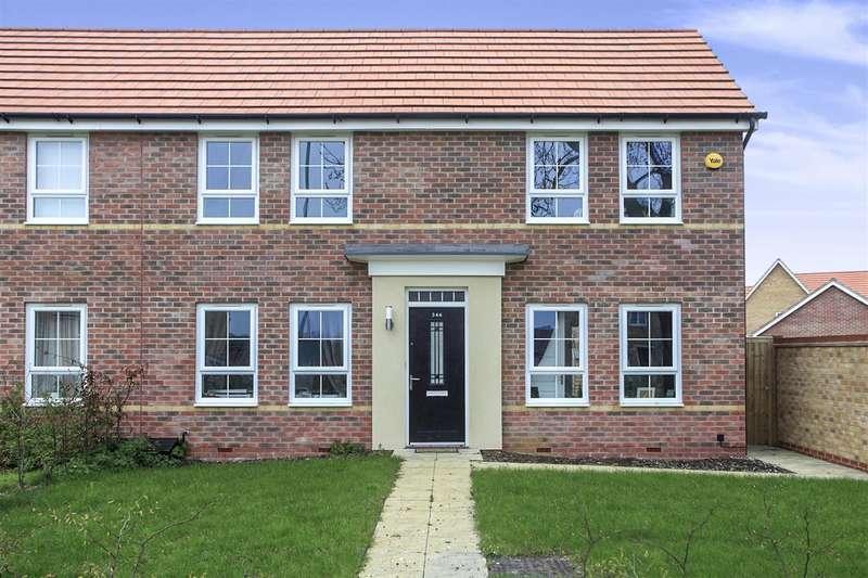 3 Bedrooms Semi Detached House for sale in London Road, PETERBOROUGH, PE2